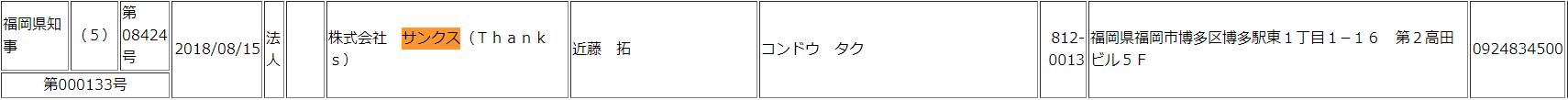 福岡サンクス
